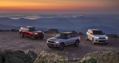All-new 2022 Jeep Grand Cherokee: The Most Technologically Advanced, 4x4-capable and Luxurious Grand Cherokee Yet