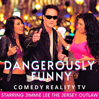 Comedy TV Star, Jimmie Lee-The Jersey Outlaw and hit comedy TV show, Dangerously Funny are now shooting in Season 5. (PRNewsfoto/Rossi Entertainment)