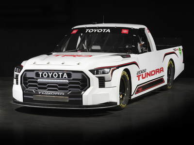 Toyota unveils the new Tundra TRD Pro for the 2022 NASCAR Camping World Truck Series