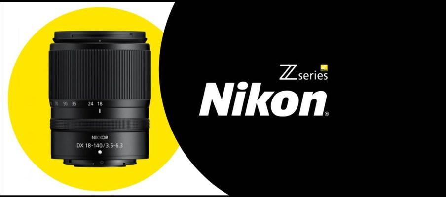 Nikon NIKKOR Z DX 18-140mm f/3.5-6.3 VR Lens
